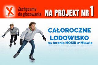 Głosuj na całoroczne lodowisko w Mławie w ramach IV Mławskiego Budżetu Obywatelskiego – Projekt NR 1