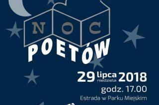 Poezja, muzyka i film. Noc Poetów 2018