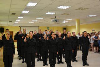 Nowi policjanci w szeregach mazowieckiej Policji