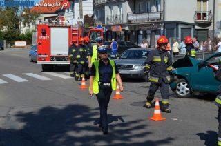 Wypadek na skrzyżowaniu Kościuszki i Mariackiej