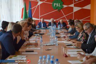 Konwencja wyborcza PSL odbyła się w Mławie