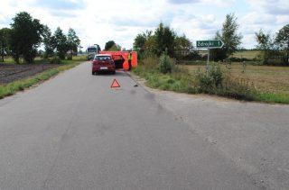 Śmiertelne potrącenie rowerzysty pod Syberią