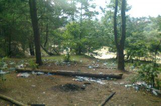 Łysa Góra tonie w śmieciach. A miało być tak pięknie