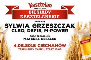 Biesiada Kasztelańska w Ciechanowie! Na scenie Sylwia Grzeszczak, Cleo, Defis i M-Power
