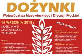 Na dożynki Województwa Mazowieckiego i Diecezji Płockiej zapraszamy do Sierpca