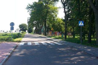 Policja sprawdza oznakowanie dróg w pobliżu szkół i placówek oświatowych