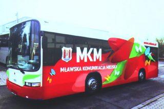 Od najbliższego poniedziałku czasowa zmiana tras MKM-ki