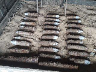 26 granatów i 2 pociski artyleryjskie znaleziono pod Makowem Mazowieckim