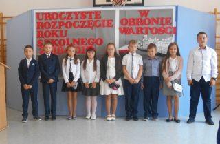 Kalejdoskop historii na inauguracji roku szkolnego w SP w Dębsku