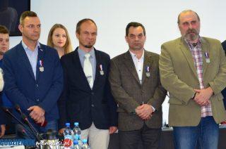 Członkowie Grupy Nieformalnej Mława Miasto Zabytkowe odznaczeni