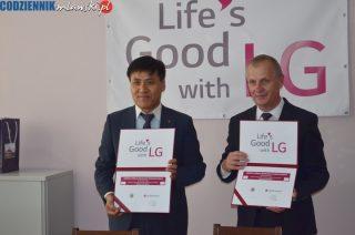 LG wyposaży dwa laboratoria elektroniki w ZS nr 3