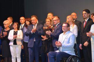 Marcin Burchacki i jego drużyna