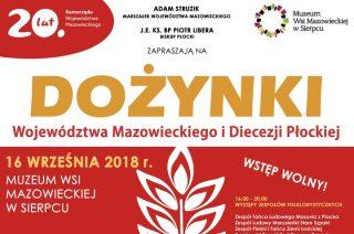 Zaproszenie na Dożynki Województwa Mazowieckiego i Diecezji Płockiej