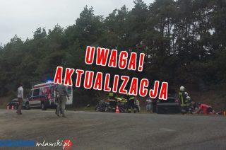 AKTUALIZACJA: Wypadek pod Turzą Małą, ranne dwie osoby