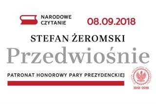 """Narodowe Czytanie """"Przedwiośnia"""" Stefana Żeromskiego już w sobotę"""