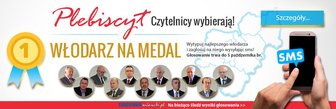 włodarz na medal plebiscyt 2018 samorządowcy Mława powiat mławski