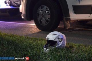 31-letni motocyklista uderzył w ciągnik. Zginął na miejscu
