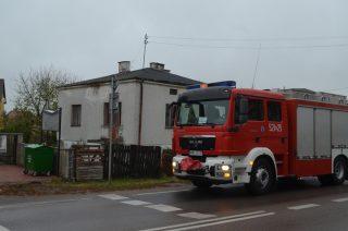 Sąsiedzki alarm poderwał mławskich strażaków
