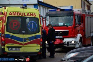 Strażacy jechali na ćwiczenia. Po drodze uratowali człowieka