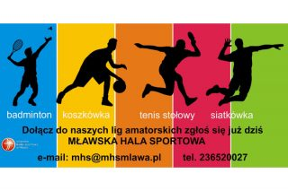 Dołącz do naszych lig amatorskich! MHS w Mławie zaprasza