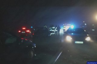 Działdowianka potrąciła policjanta i rozbiła dwa radiowozy. Była pijana