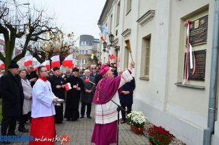 Uroczystości setnej rocznicy odzyskania niepodległości w Mławie