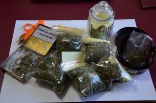 22-latek miał 87 porcji dilerskich marihuany