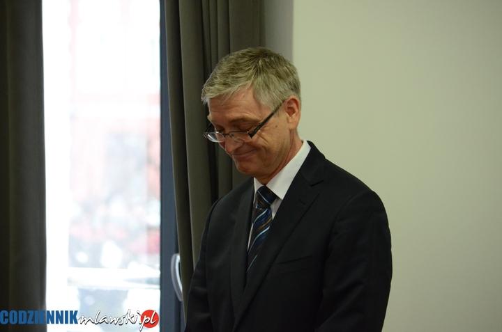 Dyrektor szpitala Jacek Białobłocki złożył rezygnację