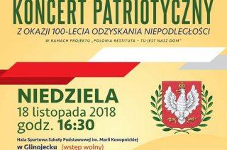 Dziś koncert patriotyczny w Glinojecku