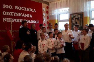 Narodowe Święto Niepodległości w SP w Nosarzewie Borowym