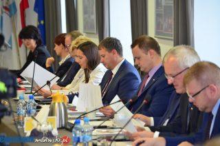 Komisje przydzielone, przewodniczący wybrani