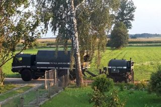 Cztery stukilogramowe bomby lotnicze znalezione w Brzozowie – Czarach