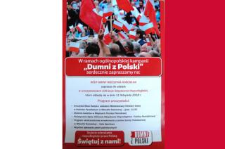 """Wieczfnia Kościelna. """"Dumni z Polski"""""""