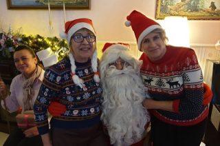 W Mikołajki, święty odwiedził także Restaurację Gary Babci Krysi