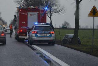 """Kolejny wypadek na """"siódemce"""" koło Wiśniewa"""