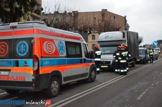 Stłuczka na skrzyżowaniu Padlewskiego i Żwirki