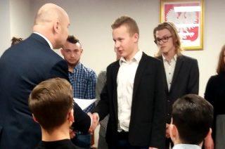 Natalia Boras i Wiktor Bryks stypendystami burmistrza