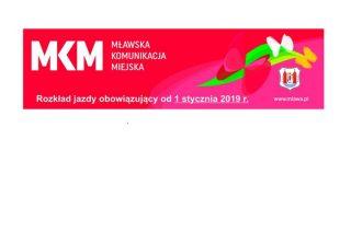 Zobacz nowe rozkłady jazdy MKM