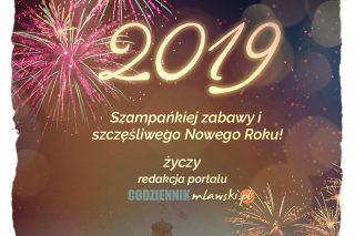 Naszym Czytelnikom życzymy szampańskiej zabawy i szczęśliwego Nowego Roku!