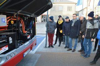 Ciechanów. Komunikacja miejska ma swój pierwszy elektryczny autobus