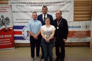 Złoto dla Zenona Mieszkowskiego i srebro dla Doroty Raczyńskiej