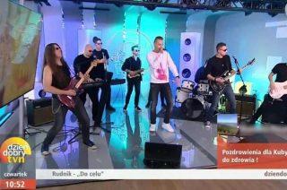 """Adam Rudnicki """"Rudnik"""" w  """"Dzień Dobry TVN"""""""