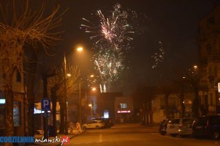 Huczne powitanie Nowego 2019 Roku