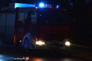 Nocne podpalenie auta w Nosarzewie Borowym