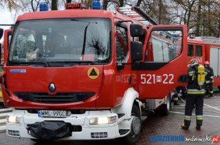 Pożar w Fine Altech. Zakład ewakuowany