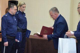 Asp. Rafał Gołębczyk i mł. asp. Arkadiusz Rudnicki najpopularniejszymi dzielnicowymi