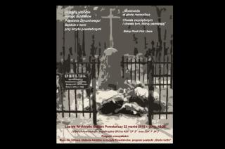 Uroczystości ku czci Bohaterów Powstania Styczniowego pod krzyżem we Wróblewie.