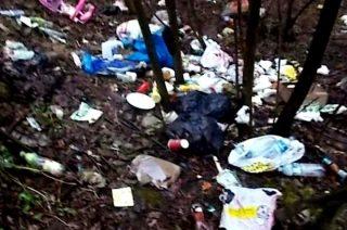 Według Straży Miejskiej do najbardziej zanieczyszczonych miejsc należą …