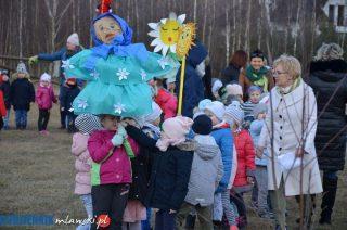 Przedszkolaki pożegnały zimę i przywitały wiosnę