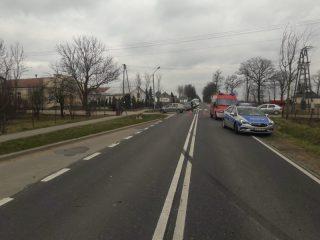 U sąsiadów: Groźny wypadek w Łagunach. Zablokowana droga Przasnysz-Ciechanów.